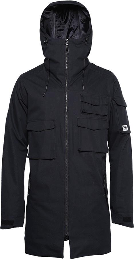 549de216bb Wearcolour Cargo Parka Ski & Snowboard Jacket S Black