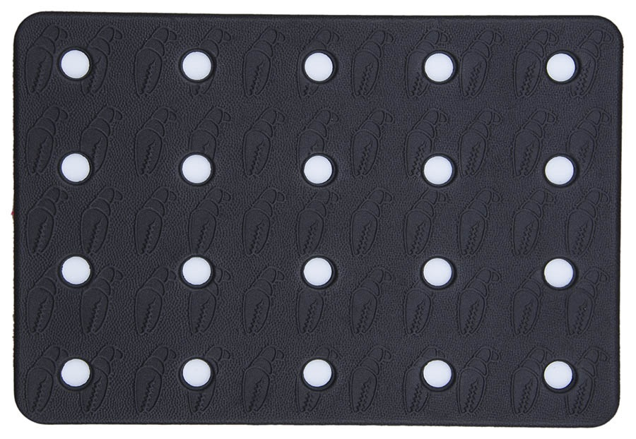 Crab Grab Holey Sheet Snowboard Stomp Pad, Black/White