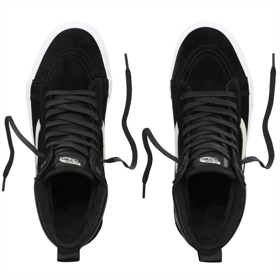 Vans Sk8 Hi MTE Skate Shoes, UK 7.5 BlackNightTrue White