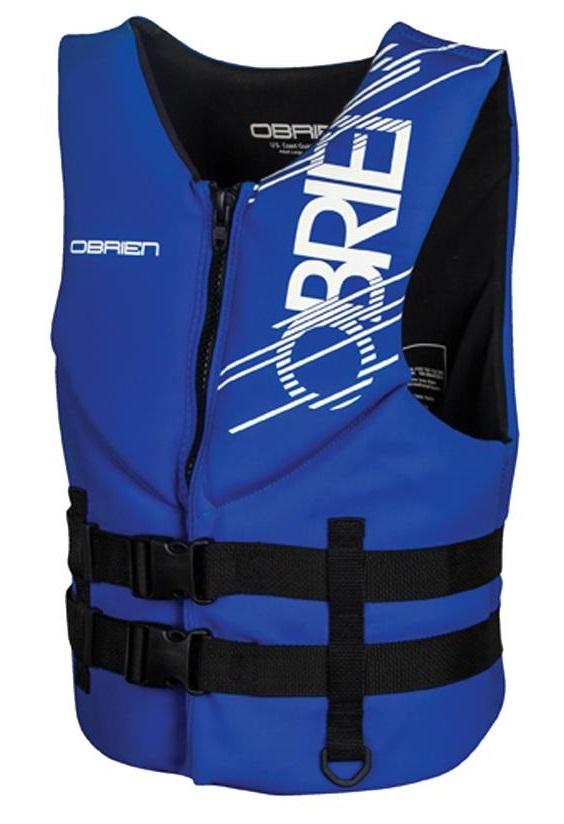 O'Brien Traditional Neo Ski Impact Vest Buoyancy Aid, XS Blue Black