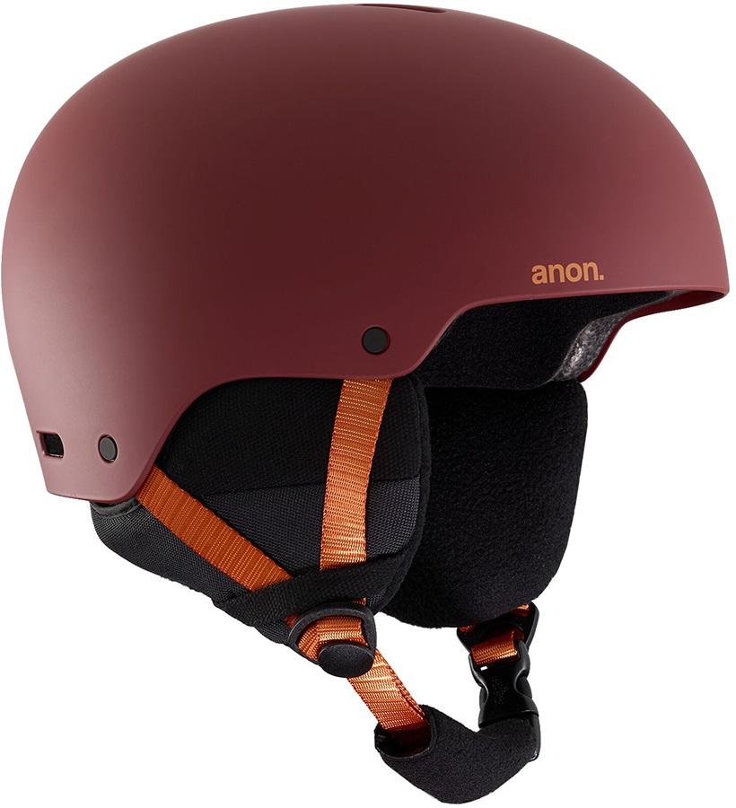 Anon Raider 3 Ski/Snowboard Helmet, M Doa Red