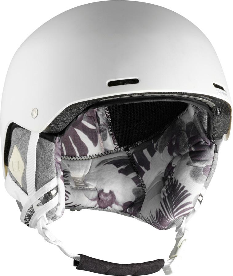 Salomon Spell+ Women's Snowboard/Ski Helmet, S White Floral