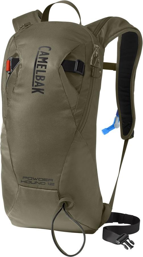 Camelbak Powderhound 12 Ski/Snowboard Backpack, 12L Burnt Olive