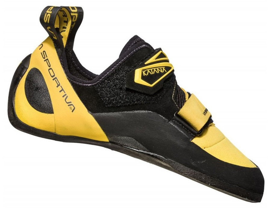 La Sportiva Katana Rock Climbing Shoe - UK 11.5 / EU 46, Yellow