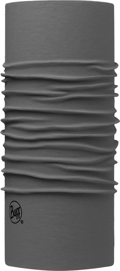 Buff Original Chube Micro-Fibre Snood Gaiter Solid Castlerock Grey