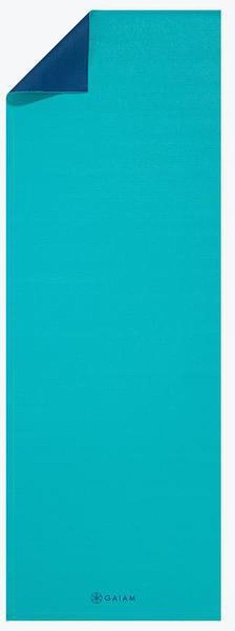 Gaiam Classic 2-Colour Yoga Mat, 4mm Open Sea