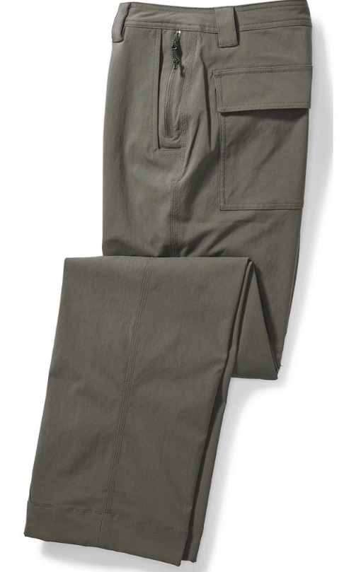 Filson Lightweight Convertible Trekking Pants/Shorts, 36 Evergreen