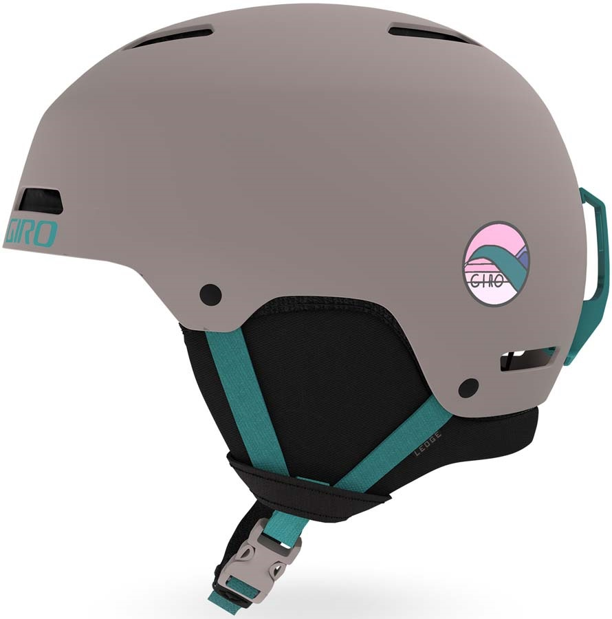 Giro Ledge Snowboard/Ski Helmet Matte Charcoal Hannah S