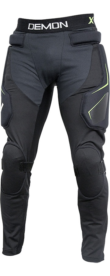 Demon X Connect X D3O Ski/Snowboard Impact Pants, XXL Black