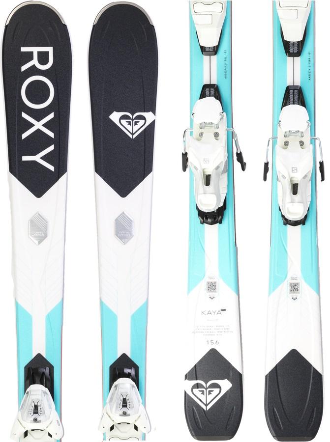 Roxy Kaya Pro Women's Skis, 149cm Teal/Purple 2019