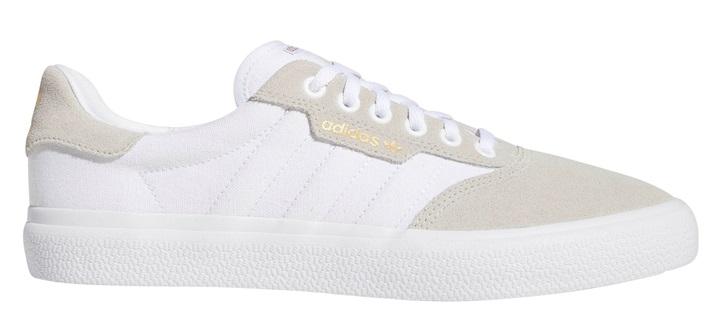 Adidas 3MC Men's Trainers Skate Shoes, UK 11.5 White