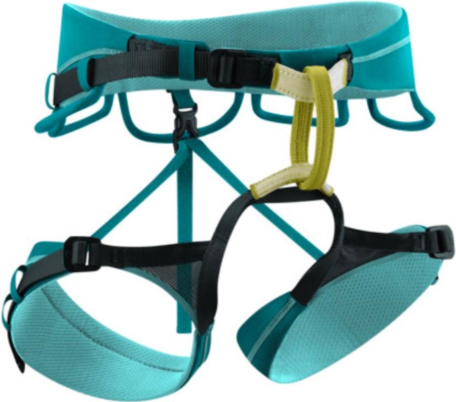 Edelrid Autana Womens Rock Climbing Harness, XS Jade
