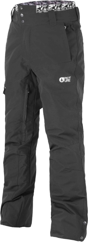 Picture Panel Ski/Snowboard Pants, S Black 2020
