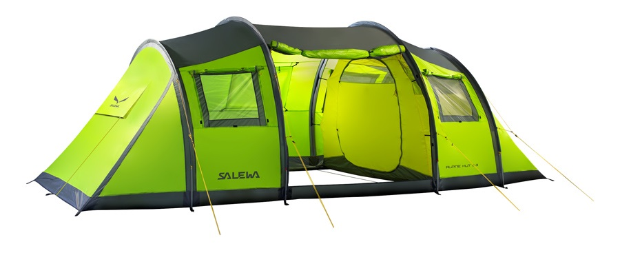 Salewa Alpine Hut III + III Tent 2 Bedroom Basecamp Shelter, 6+ Person