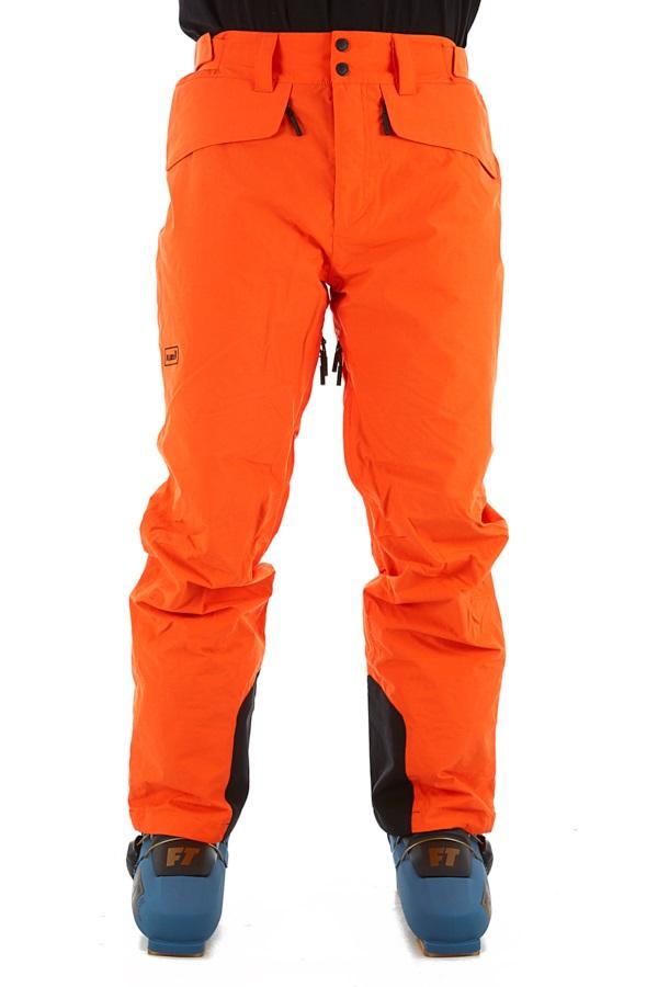 Planks Tracker Ski/Snowboard Pants, M Orange