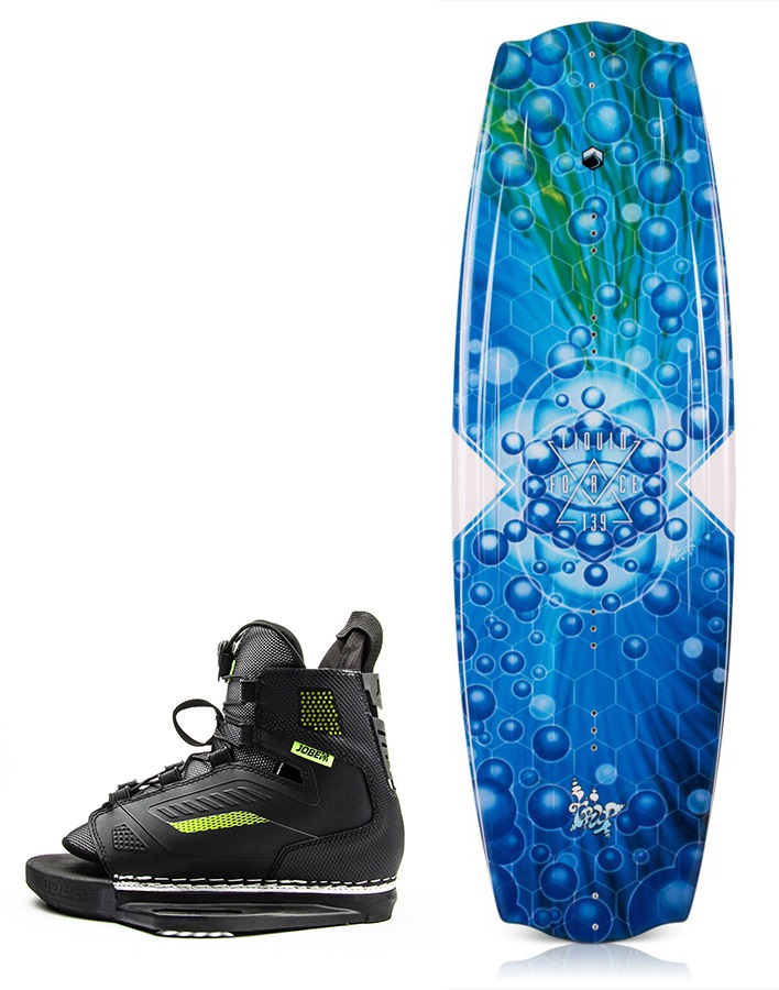 Liquid Force Trip | Unit Wakeboard Package, 130 | 2.5-5.5 Blue