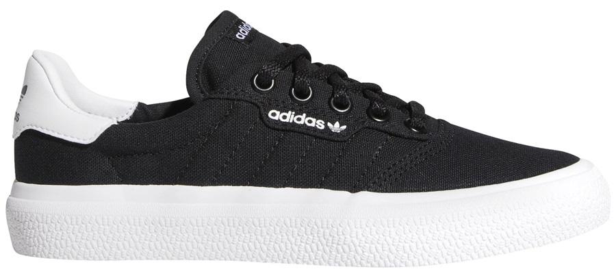 Adidas 3MC Womens/Kids Trainers Skate Shoes, UK 4.5 Black/Black/White