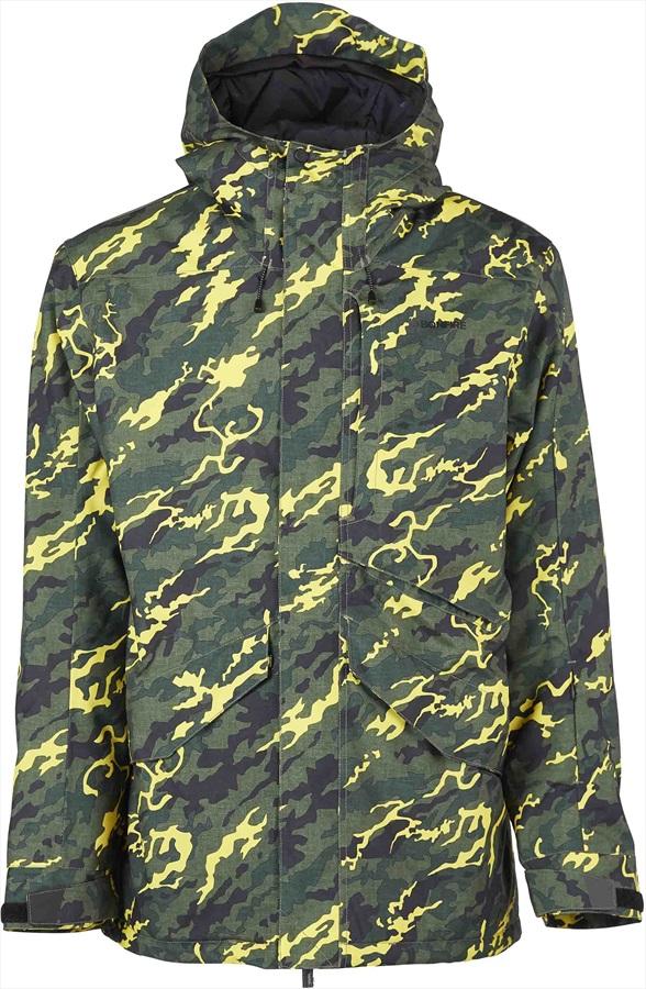 Bonfire Vector Men's Ski/Snowboard Jacket, M Camo Yellow