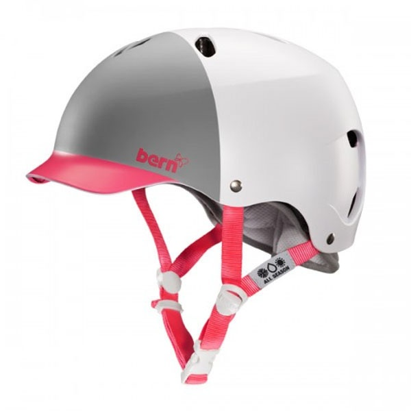 Bern LENOX Ladies H2O Watersports Helmet, L White Watermelon