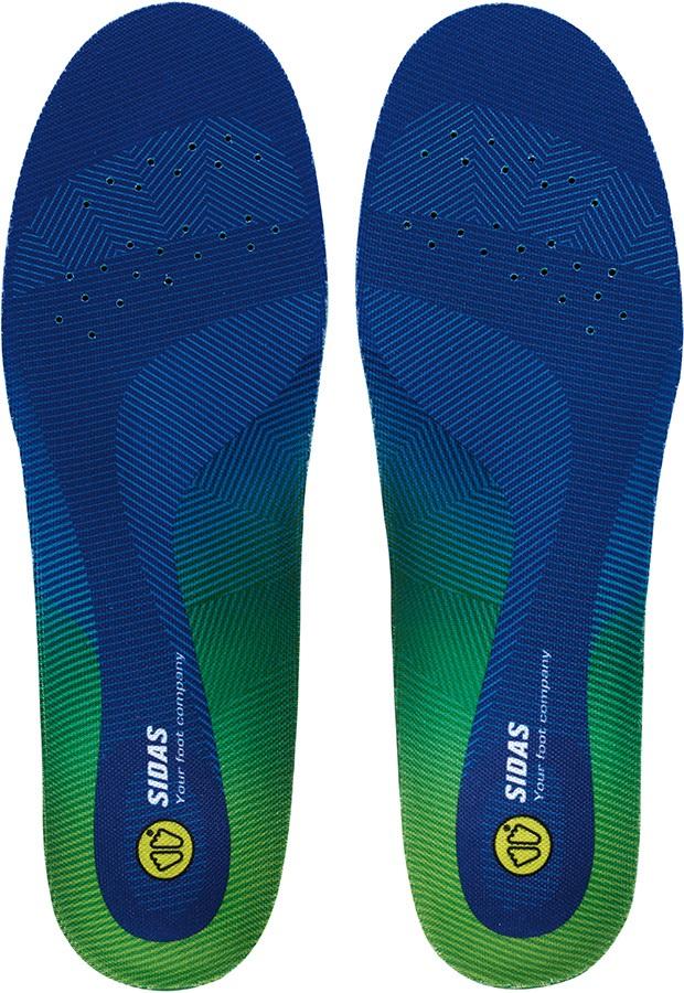 Sidas Comfort 3D Boot/Shoe Insoles, XL Blue/Green