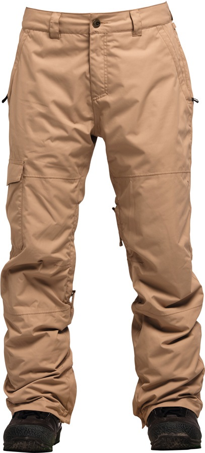 Bonfire Tactical Ski/Snowboard Pants, S Taupe