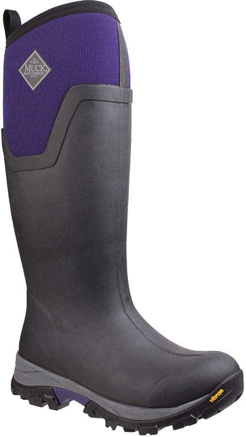 3adbde04fda Muck Boot Arctic Ice Tall Women's Wellies, UK 6 Black/Purple