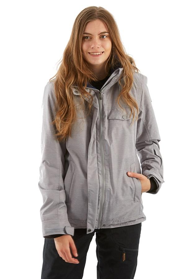 Roxy Billie Women's Snowboard/Ski Jacket, XS Heather Grey
