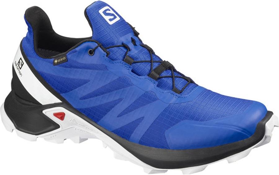 Salomon Supercross GTX Men's Trail Running Shoe, UK 7 Lapis Blue