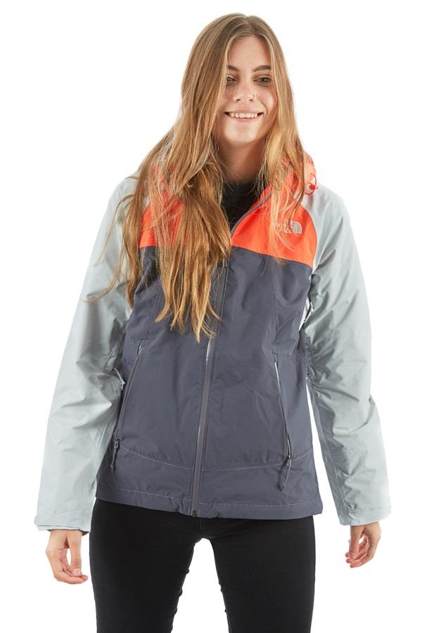 The North Face Stratos Women's Waterproof Jacket, XS GreyOrange