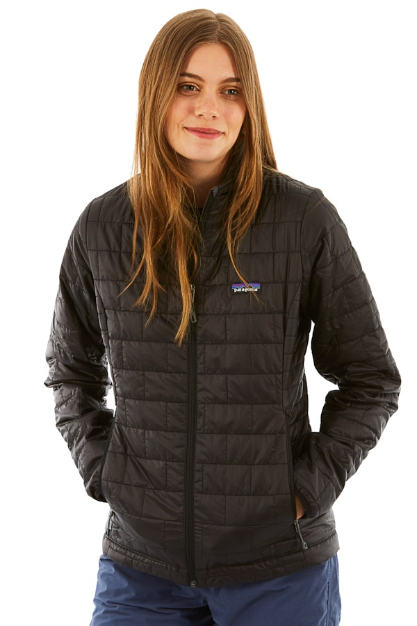 Patagonia Womens Women's Nano Puff Insulated Jacket, UK 10 Black