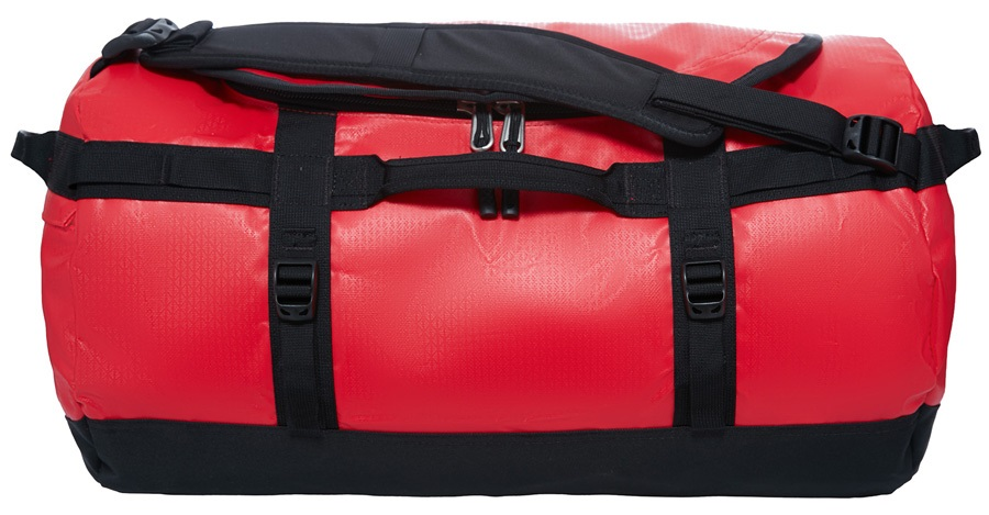 The North Face Base Camp Small Duffel Travel Bag, 50L TNF Red