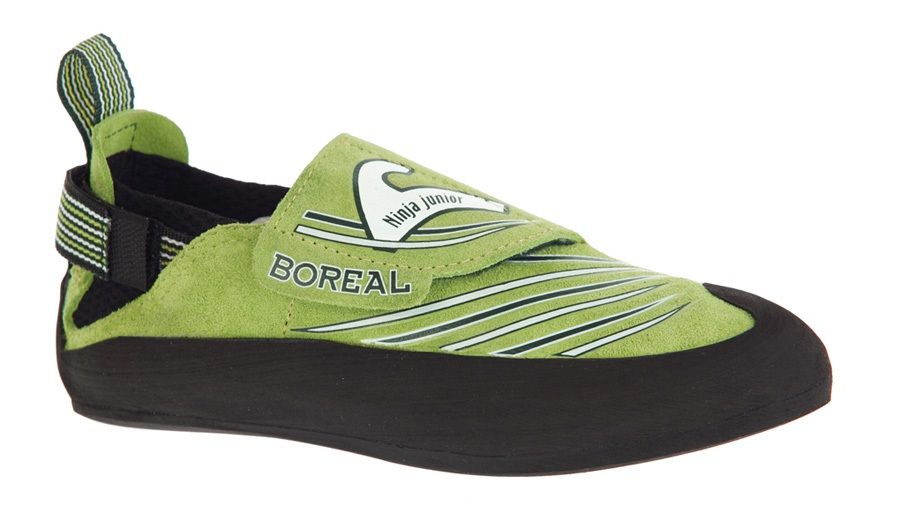 Boreal Ninja Junior Kid's Rock Climbing Shoe UK Kids 10.75-11.5 Green