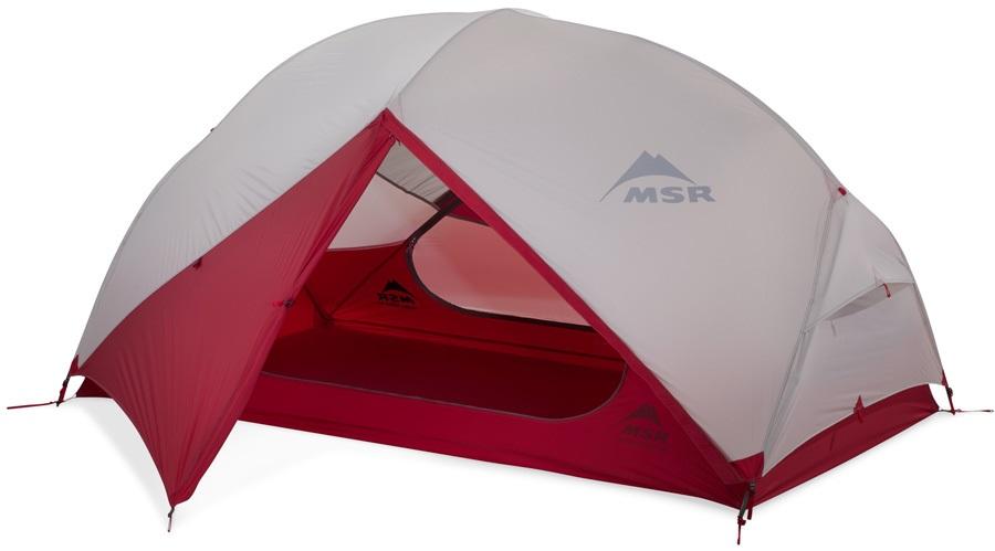 MSR Hubba Hubba NX Tent Lightweight Backpacking Shelter, 2 Man Grey