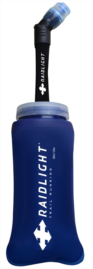 Raidlight EazyFlask Extended Bite Valve Water Bottle, 350ml Blue