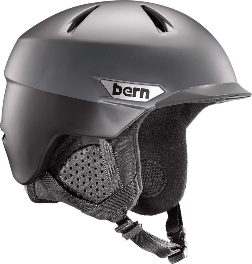 Bern Weston Peak MIPS Ski/Snowboard Helmet, L Satin Black Two-Tone