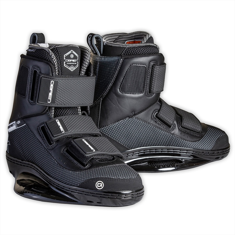 O'Brien GTX CT Wakeboard Binding, UK 8-10 Black 2020