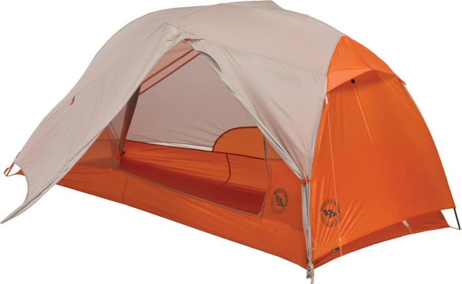 Big Agnes Copper Spur HV UL 1 Ultralight Backpacking Tent 1 Man Orange
