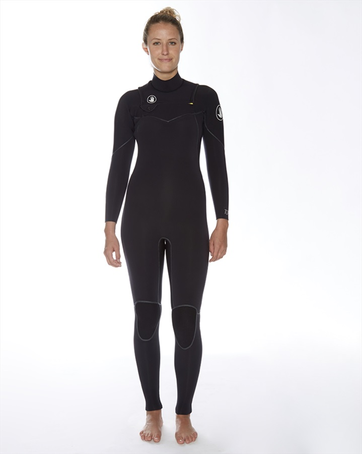 Body Glove Topaz 4/3 Slant Zip Ladies Wetsuit, UK 9-10 Black