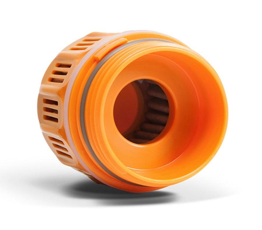 Grayl Purifier Cartridge Replacement Filter Cartridge, Orange