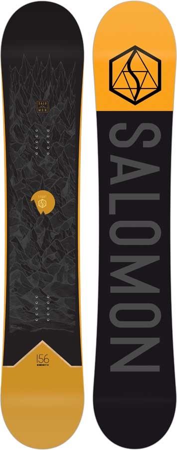 Salomon Sight Hybrid Camber Snowboard, 153cm 2020