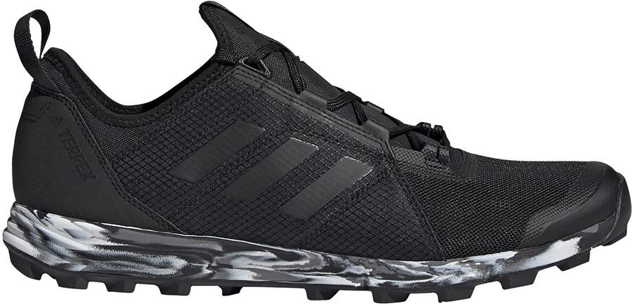 Adidas Terrex Agravic Speed Trail Running Shoes, UK 9 Core Black