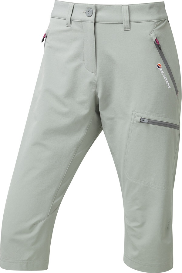 Montane Dyno Stretch Womens Short Walk-Cloudburst Grey All Sizes