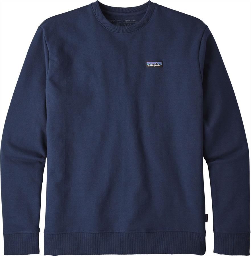 Patagonia P-6 Label Uprisal Crew Sweatshirt L Classic Navy
