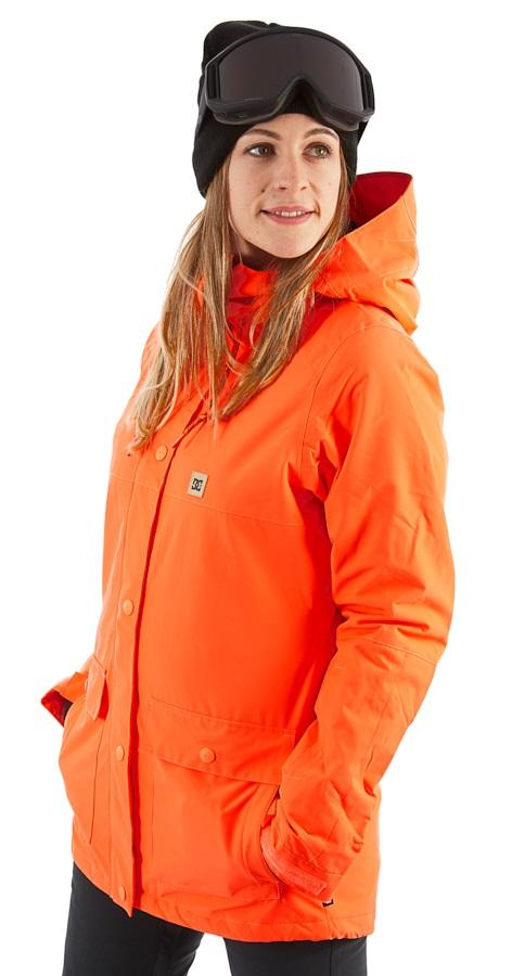 DC Cruiser Women's Ski/Snowboard Jacket, S Fiery Coral