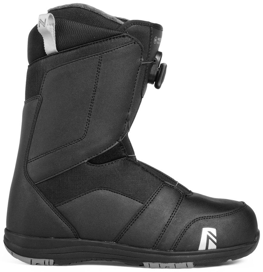 Nidecker Ranger Boa Snowboard Boots, UK 8 Black 2019