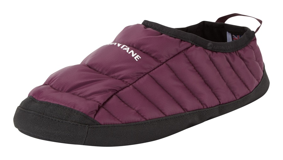 Montane Icarus Hut Insulated Camping Slippers, S Saskatoon Berry
