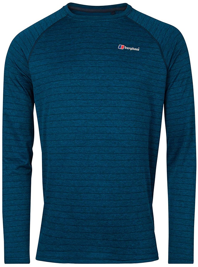 Berghaus Thermal Tech Long Sleeve Crew T-Shirt, XL Dusk/Deep Water