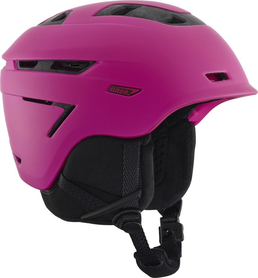Anon Omega MIPS Women's Ski/Snowboard Helmet, S Pink