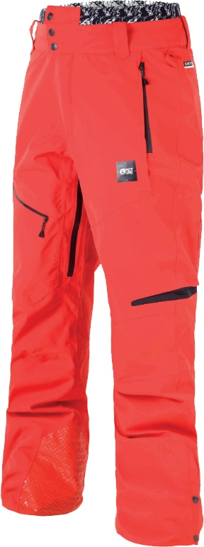 Picture Track Ski/Snowboard Pants, S Red