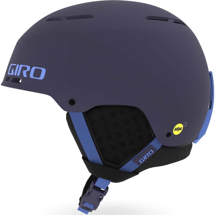 Giro Emerge MIPS Ski/Snowboard Helmet, M Matte Midnight-Shock Blue